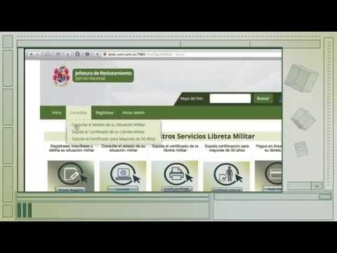 Consulta del estado de la situación militar www.libretamilitar.mil.co